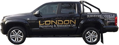 London Repointing Survey Vehicle